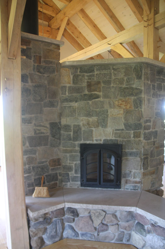 timber frames and masonry heaters a perfect match new