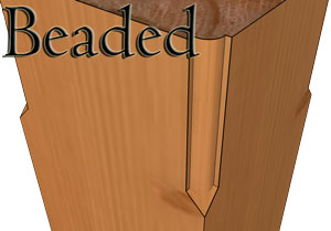 Beaded Edge profile