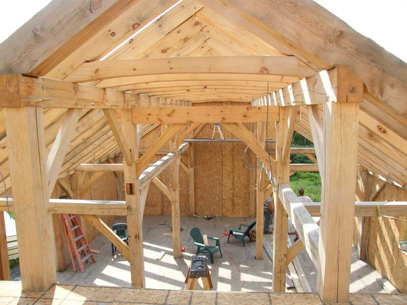 Hardwood Timber Production ~ Hardwood timber frame photo gallery new heritage woodworking