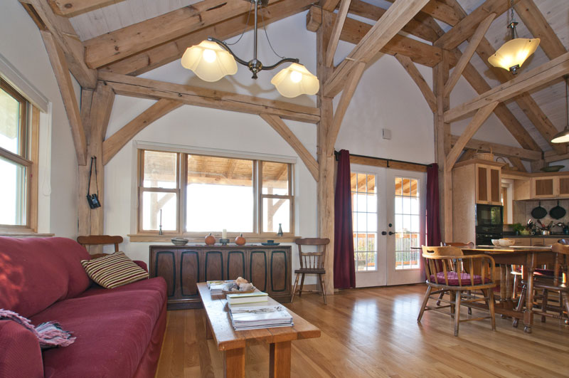Finished Timber Frames Gallery New Heritage Woodworking