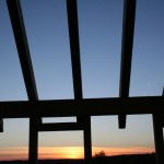 Timber-Frame-Sunset