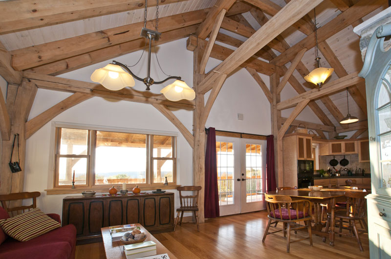Custom Timber Frame Design New Heritage Woodworking
