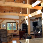 Post and beam home