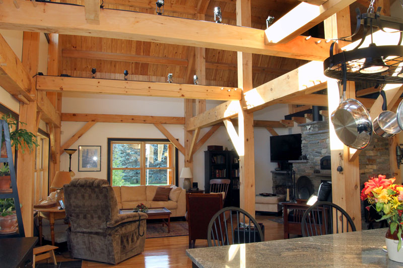timber home design.  Post and beam home Custom timberframe Entrance Timber Frame Design New Heritage Woodworking
