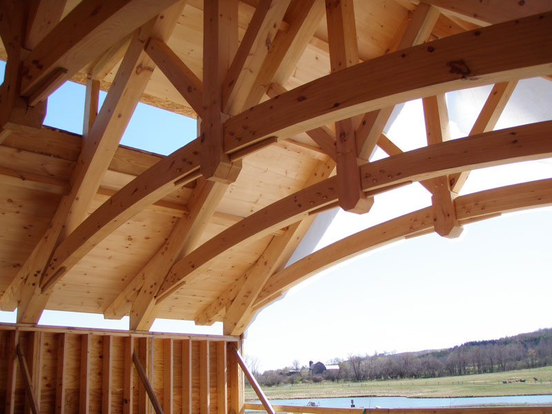 Arch Truss Photo Gallery New Heritage Woodworking
